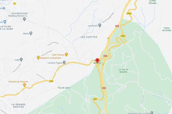 Un mort dans un accident entre deux motos ce dimanche à Cassis.