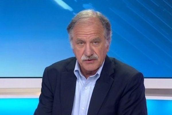 Noël Mamère, député maire de Gironde