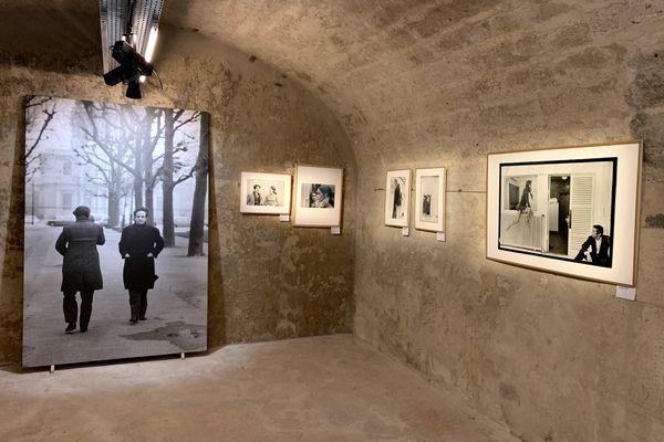Des figures du cinéma photographiées par Gilles Caron.