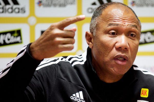 Antoine Kombouaré, entraîneur du RC Lens