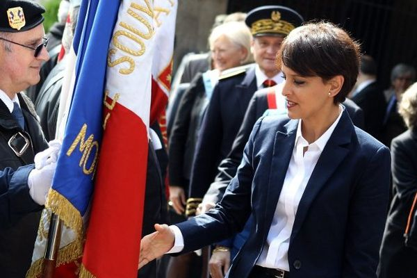 Najat Vallaud -Belkacem était à Rouen ce samedi à l'occasion des fêtes Jeanne d'Arc.