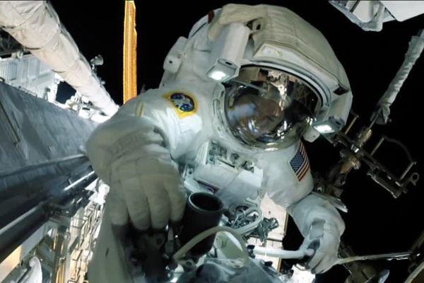 Thomas Pesquet, spationaute dans l'espace