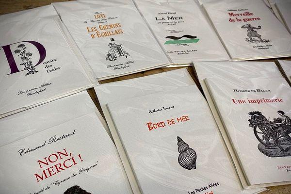Un aperçu des livres publiés par Michel Bon à Rochefort