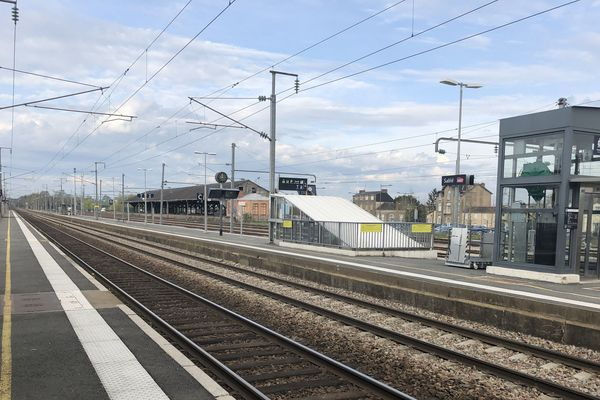Gare de Sablé-sur-Sarthe,12 avril 2018