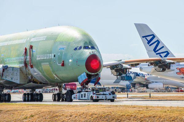 Le dernier Airbus A380 est sorti de la station 40,  le 23 septembre dernier, à Blagnac