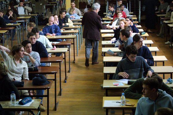 Le baccalauréat au Lycée Faidherbe de Lille, en 2001