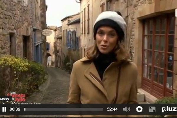 Julie Andrieu en pays albigeois