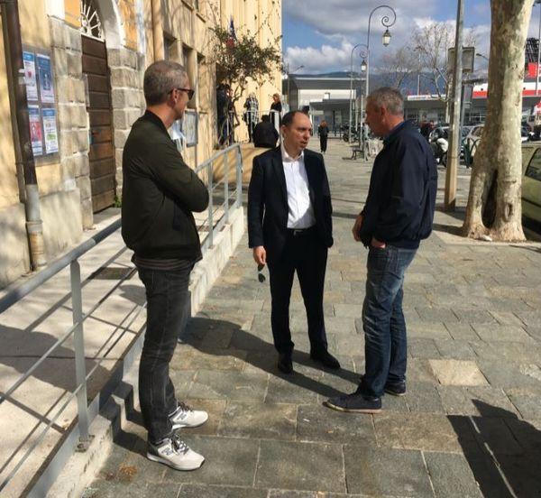 "Jean-André Miniconi, tête de liste ""Aiacciu pà tutti"""