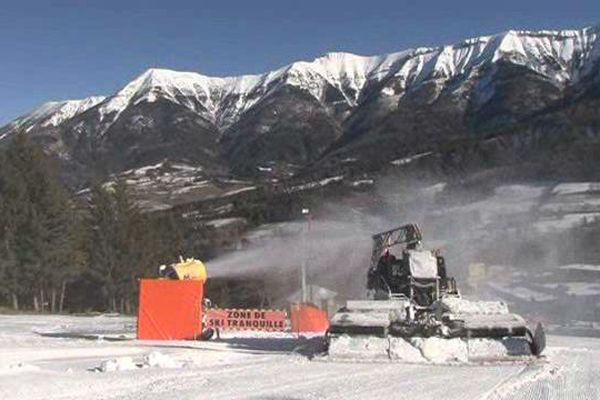 La station du Grand Puy dans la vallée de La Blanche