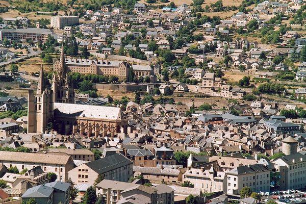 Ville de Mende en Lozère