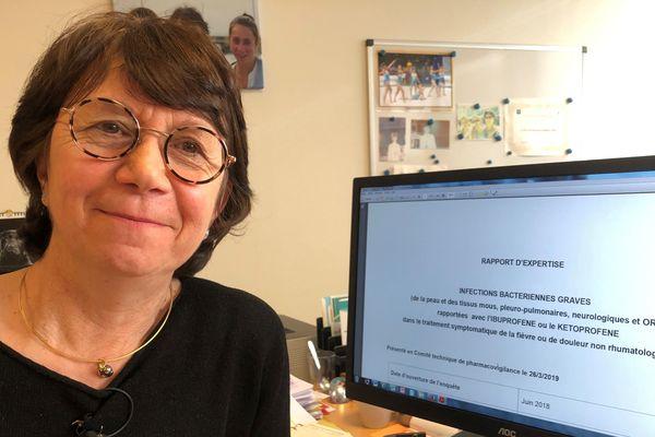Le Docteur  Anne-Pierre Jonville-Bera, Pharmacologue et Chef de Service  du Centre de Pharmacovigilance de Tours.