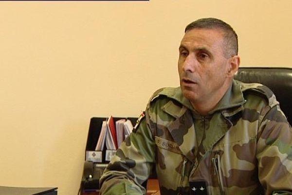 Le Général Soriano, Commandant de la 7ème Brigade Blindée