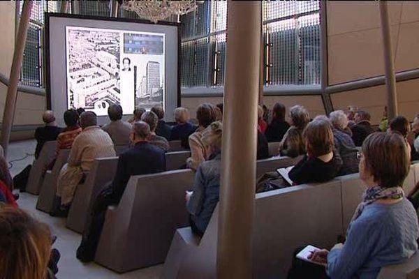 """""""L'habitat collectif, entre recherche et standardisation"""" - Conférence donnée le 29 janvier 2016 par Joseph Abram à l'Université populaire du FRAC à Orléans"""
