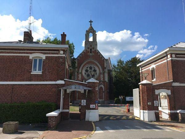L'hôpital pyschiatrique de Saint-Venant.