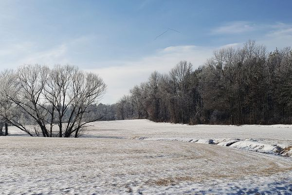 Ce week-end, la neige pourra blanchir les sols de la Normandie des terres lors du passage des précipitations.