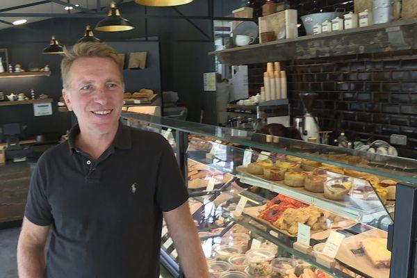 Sospel (Alpes-Maritimes) : La boulangerie de Jean-Louis Pelé est vidée de ses clients depuis la fermeture de la départementales.