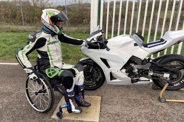 Si aujourd'hui Daniel Sousa Rego peut faire de la moto sur circuit, c'est après un long combat.