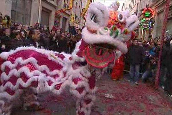 Nouvel an chinois à Lyon