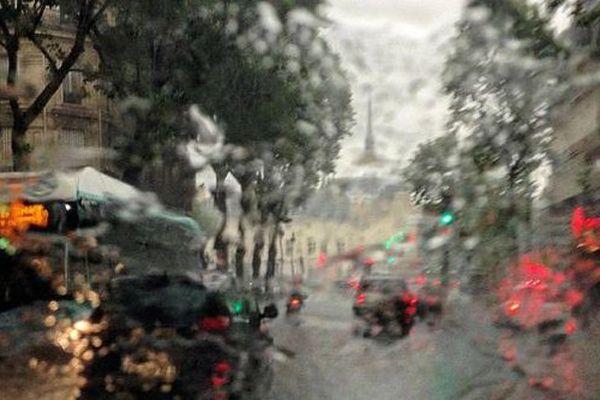 De la pluie à Paris.