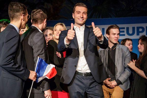 Jordan Bardella élu député européen et tête de liste pour le rassemblement national aux élections européennes