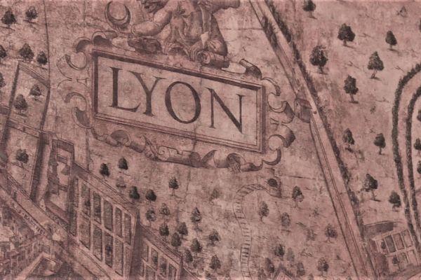 Le plan de 5m2, daté du milieu du 16e siècle, est sans doute la première cartographie de la ville de Lyon.