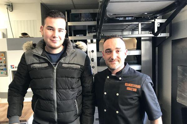 Alexis Rousseau et David Herbault comptent bien retravailler ensemble à la boulangerie de la Chapelle Vendômoise