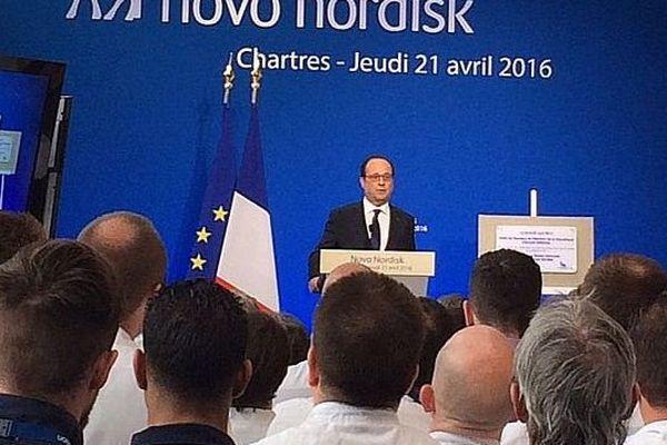 Le discours de François Hollande à Chartres ce jeudi