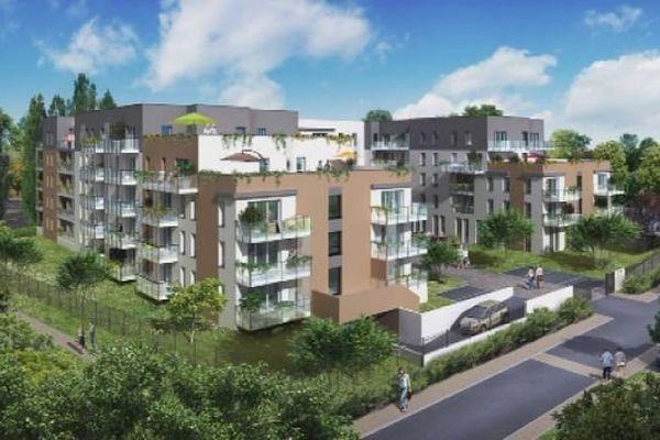 Projet d'un résidence pour séniors à Besançon