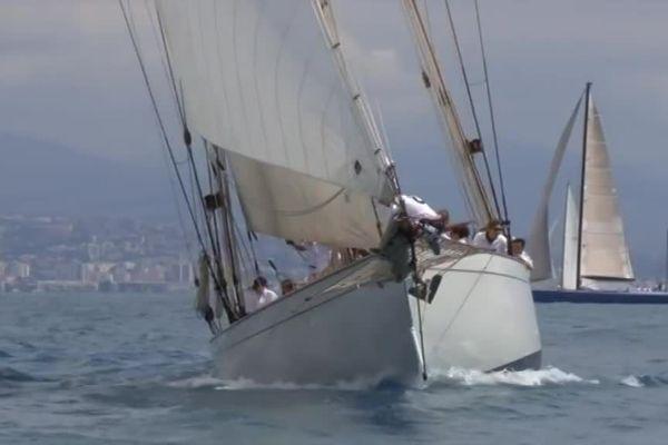 22ème édition des Voiles d'Antibes,  première étape du Panerai Classic Yachts Challenge