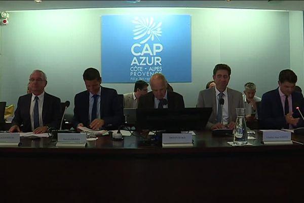 David Lisnard est élu président du pôle métropolitain Cap Azur.