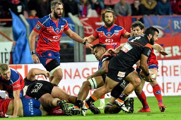 Narbonne a créé la surprise vendredi 27 octobre 2017 en battant Béziers 34-19.