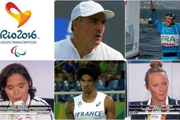 28 médailles pour la France aux Paralympiques de Rio 2016 dont 5 décrochées par les champions des Pays de la Loire