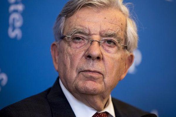 Jean-Pierre Chevènement le 16 novembredernier à l'Assemblée Nationale