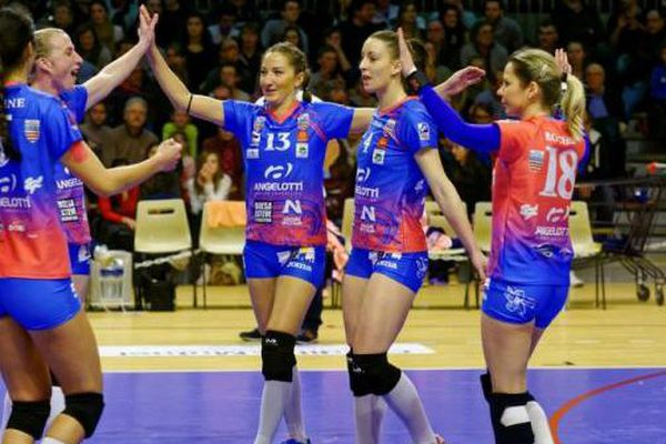 Les Béziers Angels vont tenter de faire tomber un ogre du volley français