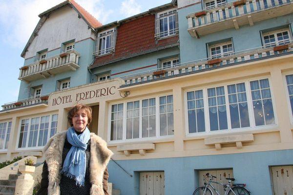 Le charme d'autrefois à l'Hôtel Frédéric au bord de l'océan.