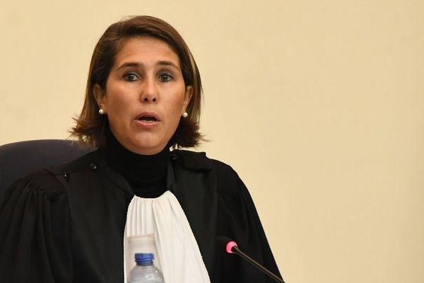 La présidente du tribunal Marie-France Keutgen pendant le procès, ce lundi matin.
