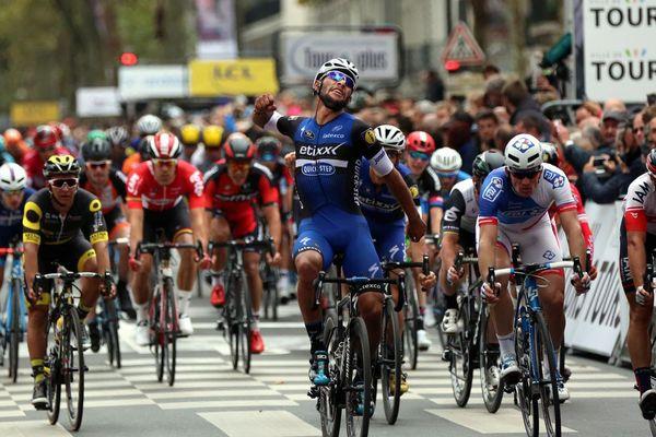L'arrivée du Paris-Tours, édition 2016