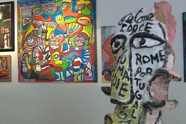 Cérès Franco, installée dans l'Aude depuis 1994, avait déjà exposé une partie de sa collection dans ses deux maisons-musées de Lagrasse.
