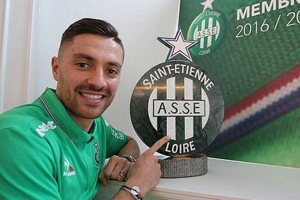 Le milieu offensif/attaquant de Bologne rejoint l'ASSE- Le 27/01/2017