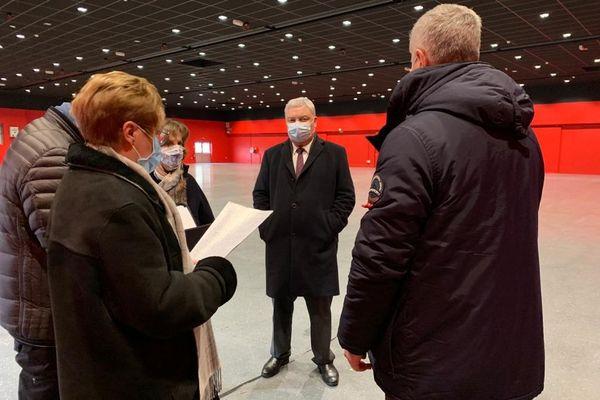 Le hall 5 du parc expo de Colmar bientôt transformé en vaccinodrôme