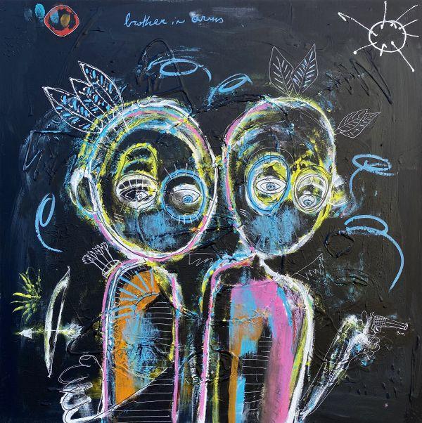 Pooshy Lebaron est l'un des 30 artistes représentés à Odyssey 2021