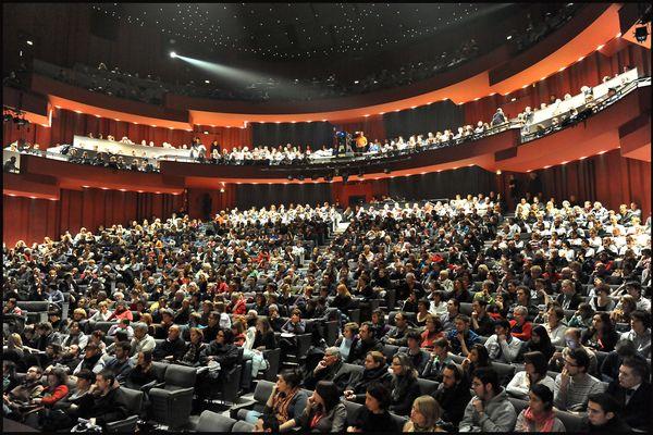 Le théâtre de Caen bondé... Une image que l'on ne va pas revoir tout de suite, mais un premier concert va bien pouvoir se tenir comme prévu le 2 juin.