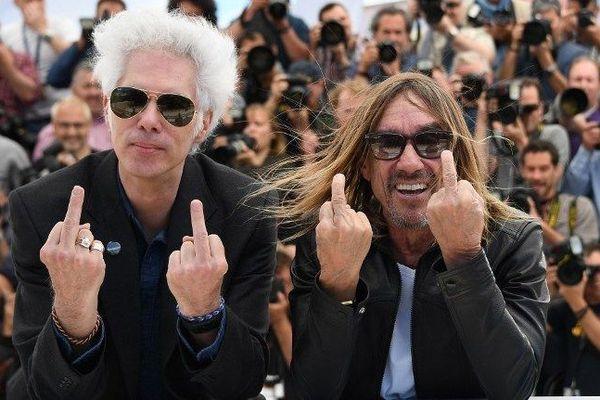 Jim Jarmusch et Iggy Pop provocateurs