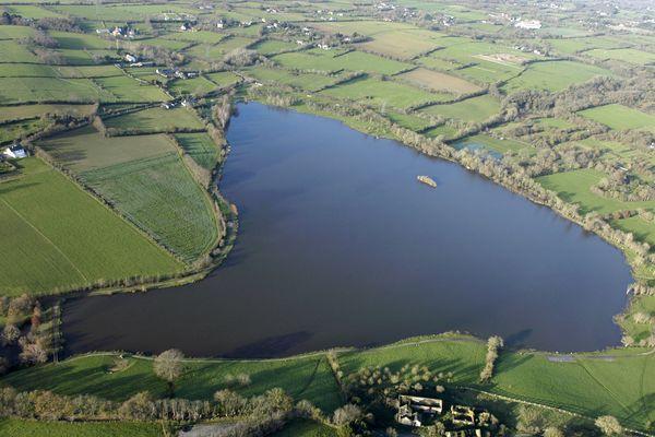 Le lac de Beaulieu à Couëron va être entièrement vidé
