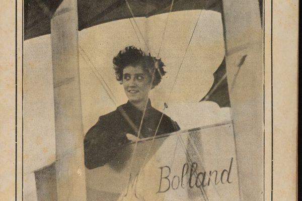 """Anne Bolland, """"l'héroïne des Andes"""" dans la presse de l'époque"""