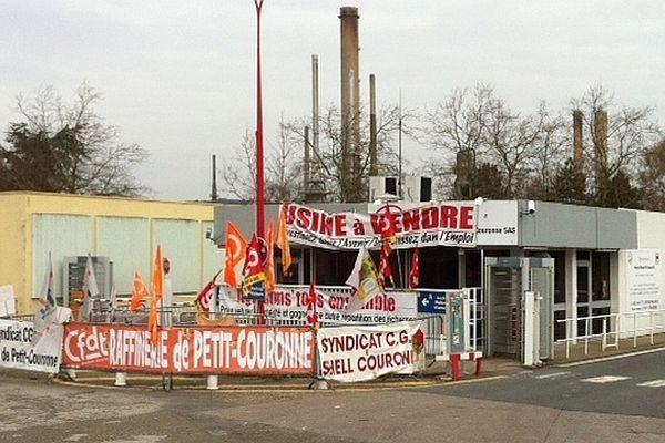 Archives : le début de la mobilisation des salariés de la raffinerie de Petit-Couronne