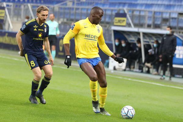 Florentin Pogba, joueur du FCSM.