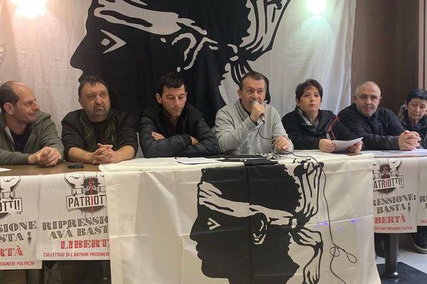 Le collectif était réunis ce samedi 28 décembre  à Bastia pour faire un point sur la rencontre à l'Assemblée nationale.