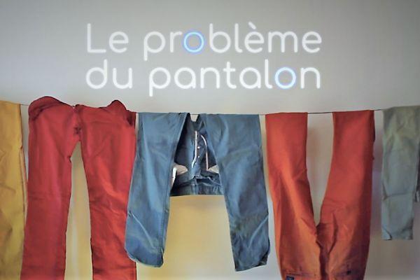 Image tirée du film : Le problème pantalon de Guillaume Levil.