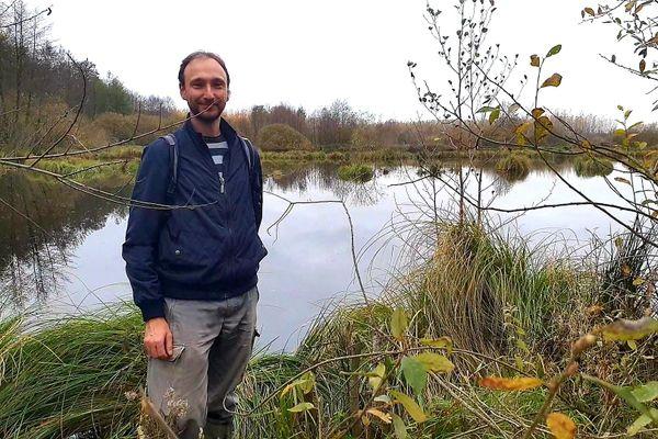 Thomas Lorich, chargé d'études scientifiques au conservatoire d'espaces naturels de Champagne-Ardenne